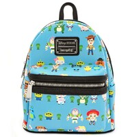 Loungefly Disney Toy Story 4 - Chibi Print - Mini Backpack
