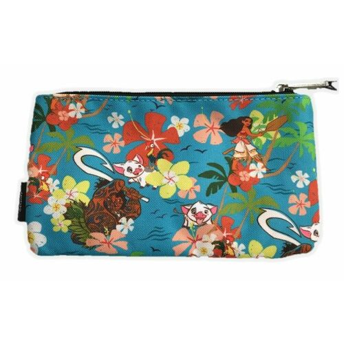 Loungefly Disney Moana - Floral Print Pencil Case