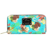 Loungefly Disney Moana - Floral Zip-around Wallet