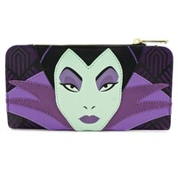 Loungefly Disney Sleeping Beauty - Maleficent Zip-around Wallet