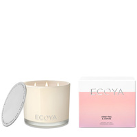 Ecoya Grand Madison Jar Candle - Sweet Pea & Jasmine