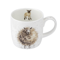 Royal Worcester Wrendale The Wooly Jumper Sheep Mug