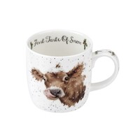 Royal Worcester Wrendale Christmas Cow Mug