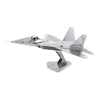 Metal Earth - 3D Metal Model Kit - F-22 Raptor