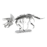 Metal Earth - 3D Metal Model Kit - Dinosaur Triceratops Skeleton