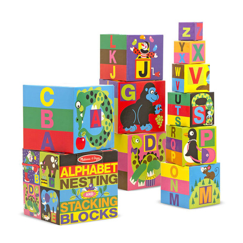 Melissa & Doug Skill Builder - Alphabet Blocks