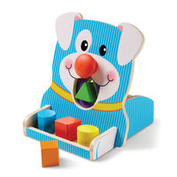 Melissa & Doug First Play - Spin & Feed Shape Sorter