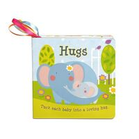 Melissa & Doug Tether Book - Hugs Board Book