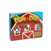 Melissa & Doug Poke-a-dot Book - Old Macdonald's Farm Board Book