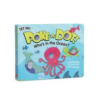 Melissa & Doug Poke-A-Dot Book - Who's In The Ocean Board Book