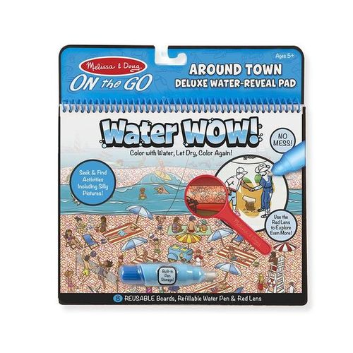 Melissa & Doug On The Go - Water WOW! Deluxe - Around Town