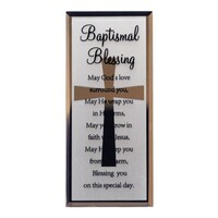 Mirror Plaque - Baptismal Blessing