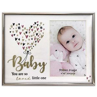 Baby Girl Glitter Photo Frame