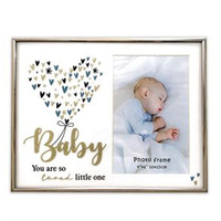 Baby Boy Glitter Photo Frame