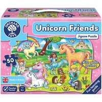 Orchard Toys Unicorn Friends Jigsaw & Poster 50pc
