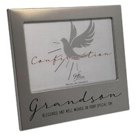 Confirmation Photo Frame - Grandson