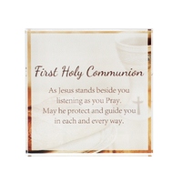 Crystal Block - First Holy Communion