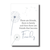 Home Warmer Plaque - Family Friends