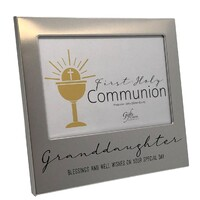 First Holy Communion Photo Frame - Granddaughter