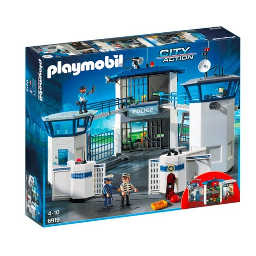 Playmobil City Action - Police Headquarters With Prison