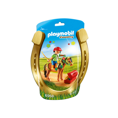 Playmobil Country - Groomer with Bloom Pony