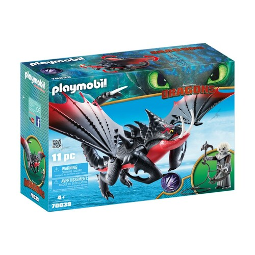 Playmobil How To Train Your Dragon 3 - Deathgripper with Grimmel