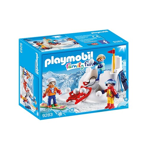 Playmobil Family Fun - Snowball Fight