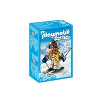 Playmobil Family Fun - Skier with Poles