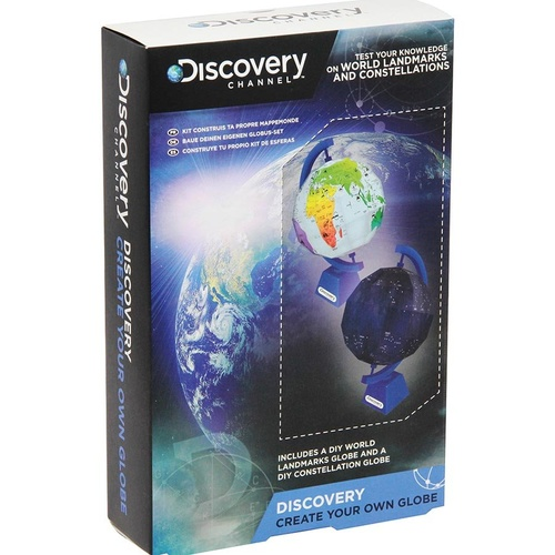 Discovery Channel Create Your Own Globe