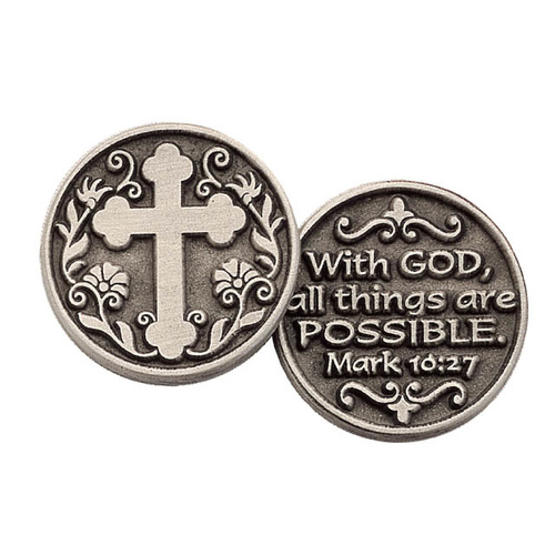 Pocket Token - With God