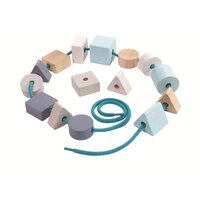 PlanToys Learning & Education - Geo Lacing Beads
