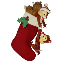 2019 Hallmark Keepsake Ornament - Disney Chip and Dale Stocking Stuffers