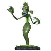 2020 Hallmark Keepsake Ornament - Disney Tim Burton's The Nightmare Before Christmas Undersea Gal