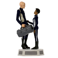 2019 Hallmark Keepsake Ornament - Star Trek: Discovery Commander Saru and Michael Burnham With Sound