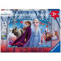 Ravensburger Puzzle 2 x 12pc - Disney Frozen 2 - Journey to the Unknown