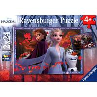 Ravensburger Puzzle 2 x 24pc - Disney Frozen 2 - Frosty Adventures