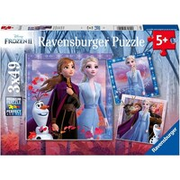 Ravensburger Puzzle 3 x 49pc - Disney Frozen 2 - The Journey Starts