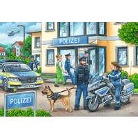 Ravensburger Puzzle 2 x 24pc - Police at Work
