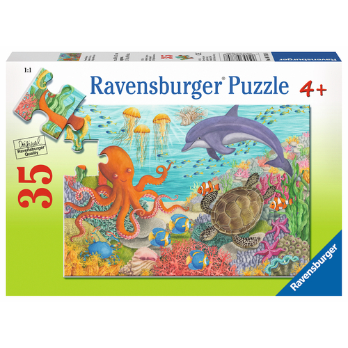 Ravensburger Puzzle 35pc - Ocean Friends