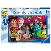 Ravensburger Puzzle 35pc - Disney/Pixar Toy Story 4 - Made To Play