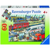 Ravensburger Puzzle 60pc - Railway Station