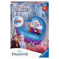Ravensburger 3D Puzzle 54pc - Disney Frozen 2 Heart Trinket Box