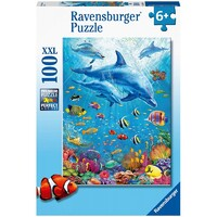 Ravensburger Puzzle 100pc - Pod of Dolphins