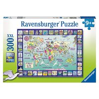 Ravensburger Puzzle 300pc - Looking at the World