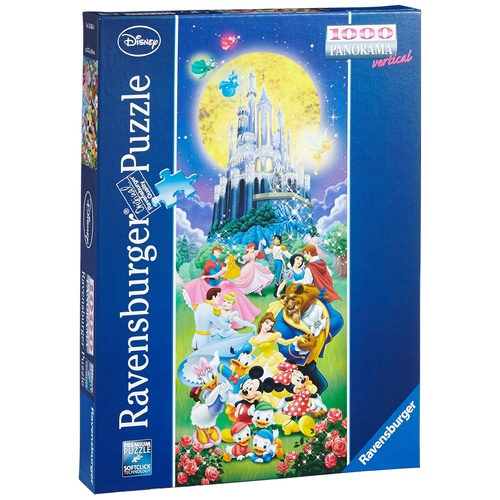 Ravensburger Puzzle 1000pc - Vertical Panorama Disney Characters