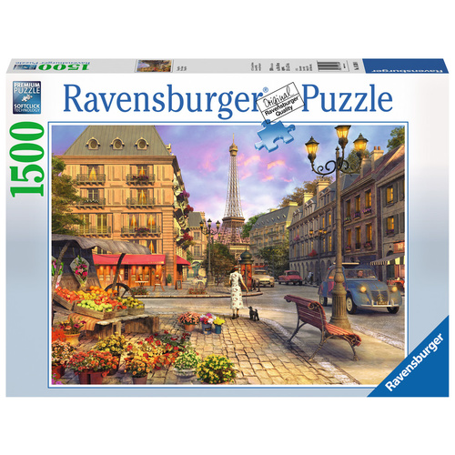 Ravensburger Puzzle 1500pc - Vintage Paris
