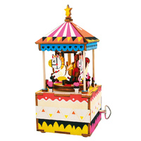 Rolife 3D Wooden Puzzle - Merry-Go-Round Music Box