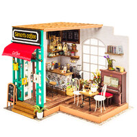 Rolife Wooden Model - DIY Minature House Simon's Coffee