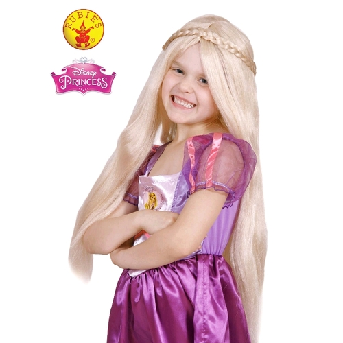Disney Princess Costume - Rapunzel Childrens Wig