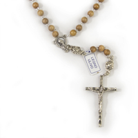 Rosary Beads Olive Wood 7mm